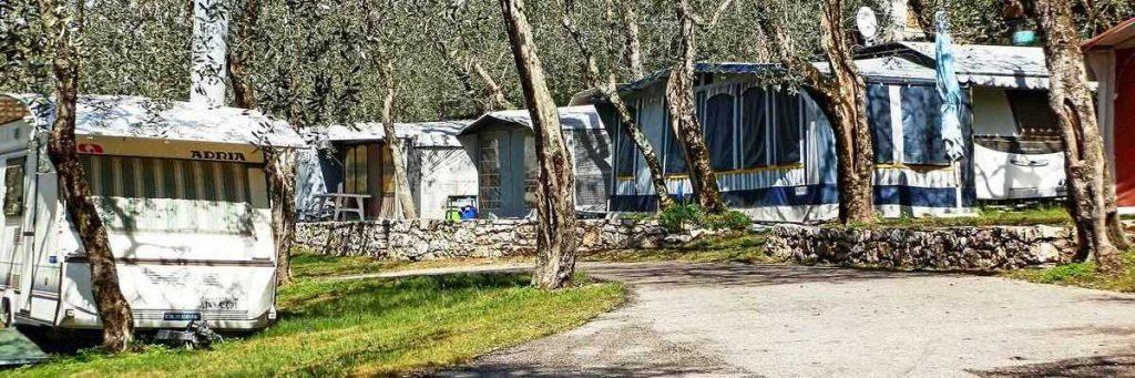 Caravan zu vermieten in Camping Le Maior in Brenzone am Gardasee