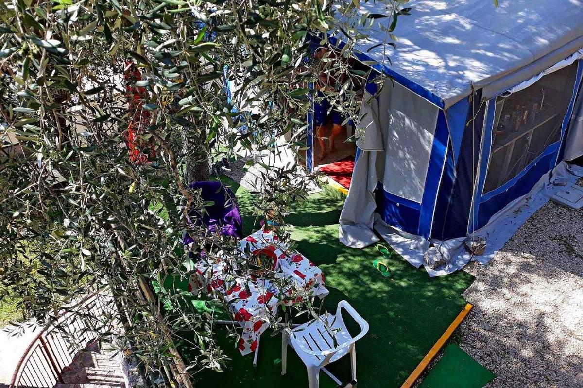 Rental Caravan Bellini with veranda 2 fino a 4 persone, lake view